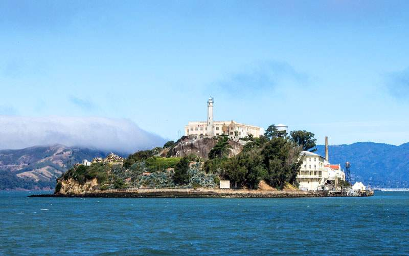 Alcatraz Prison in San Francisco