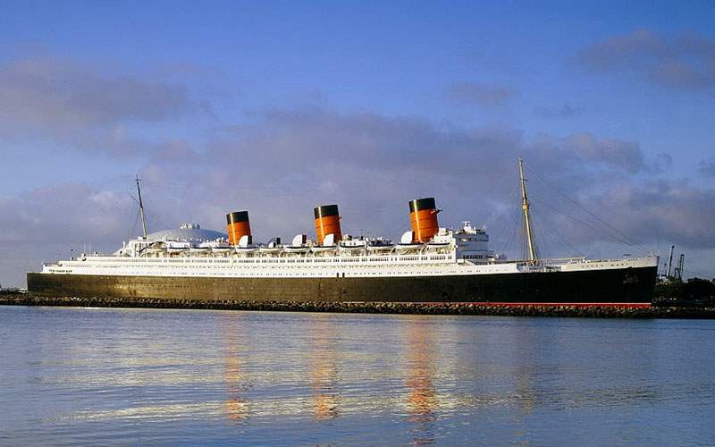 Historic Queen Mary in LA