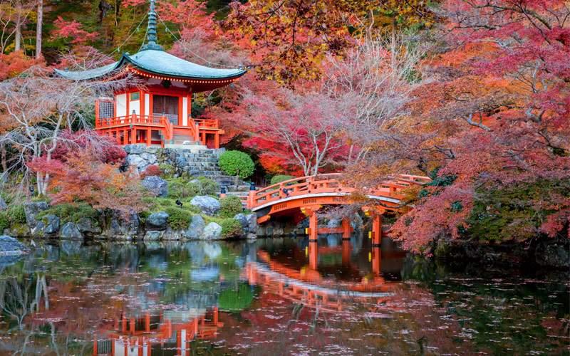 Daigoji Temple in Kyoto, Japan