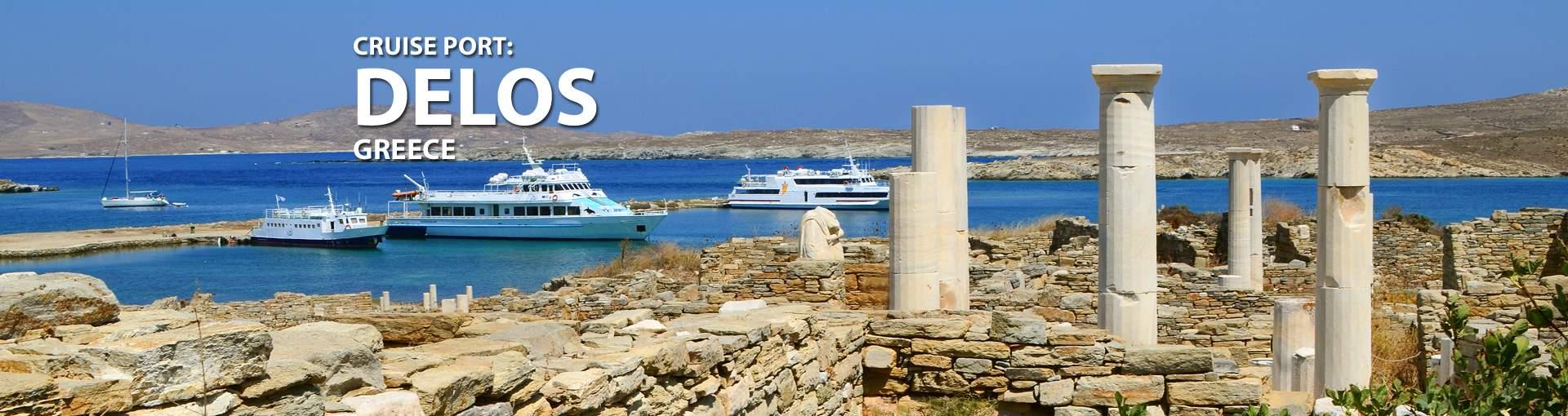 Cruises to Delos, Greece