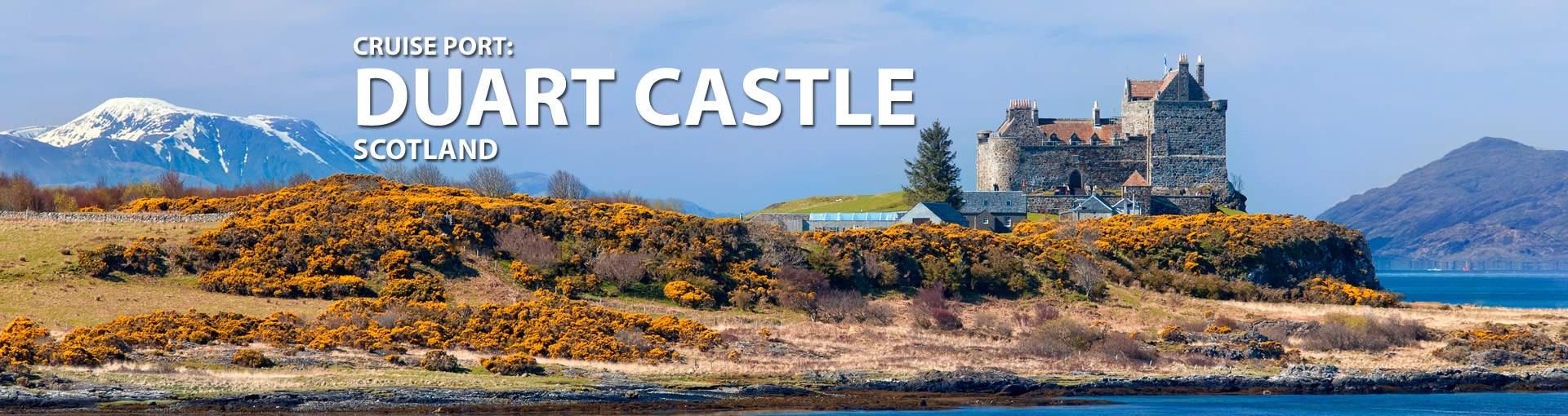 Cruises to Duart Castle, Scotland