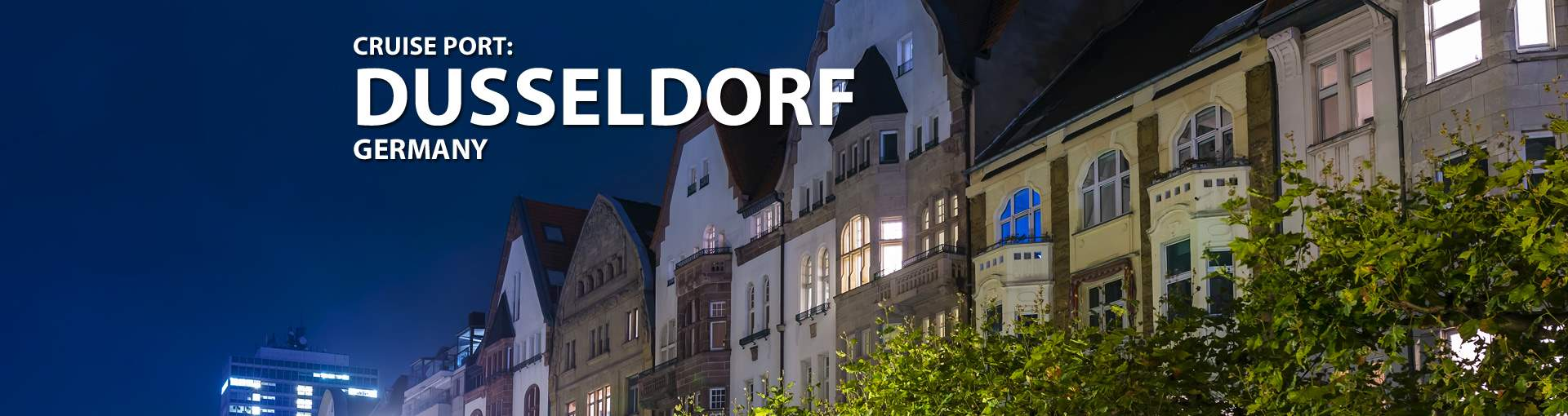 Cruises to Dusseldorf, Germany