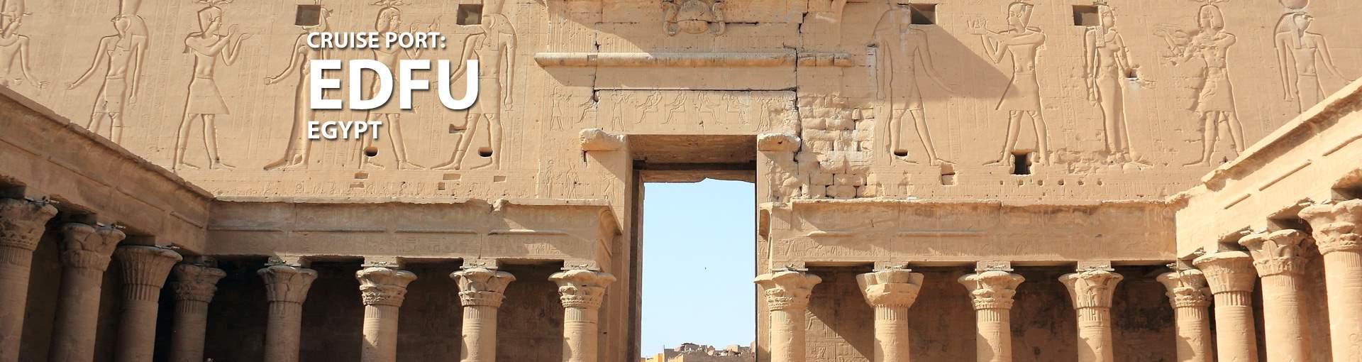Cruises to Edfu, Egypt