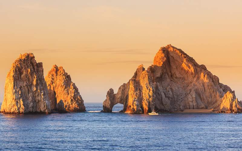 Lands End rock formation in Cabo San Lucas, Mexico