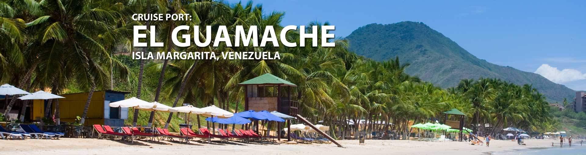 Cruises to El Guamache (Isla Margarita), Venezuela