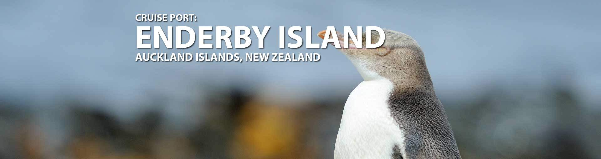 Cruises to Enderby Island, Auckland Islands