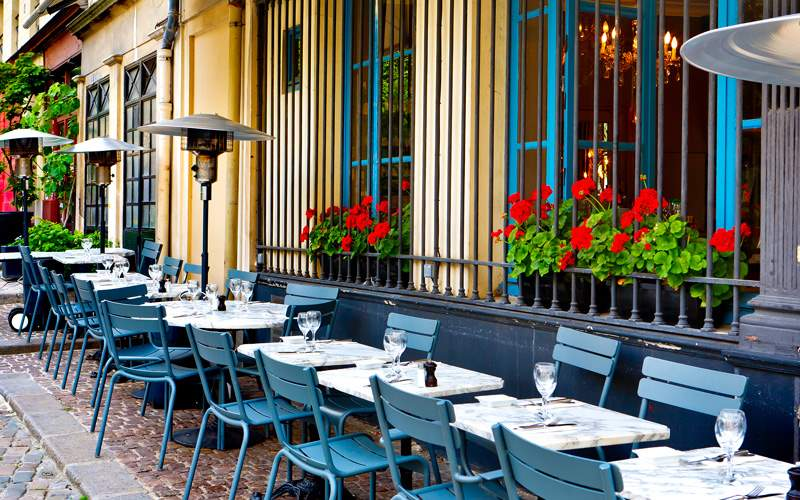Europe Cruisetours, French restaurant Paris
