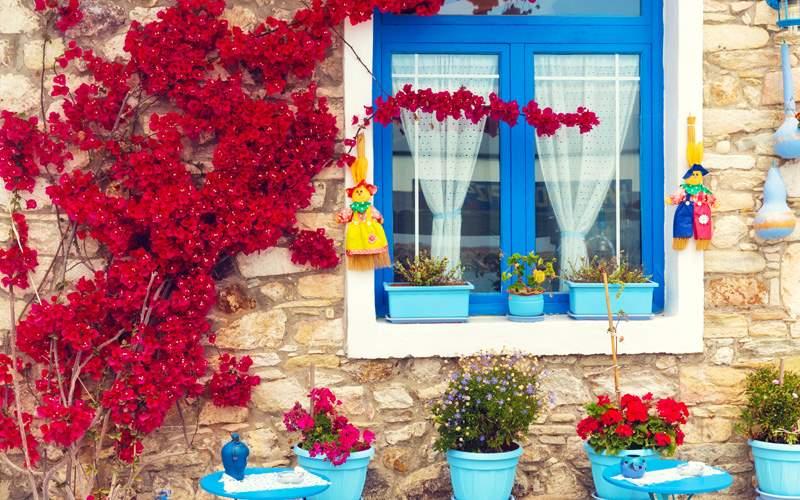Europe Cruisetours,Traditional Mediterranean house