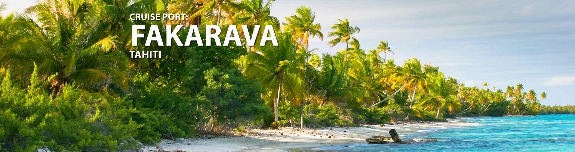 Cruises to Fakarava, Tahiti