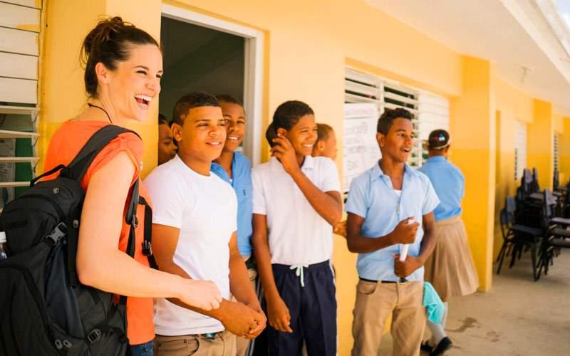 Fathom Dominican Republic School Boys
