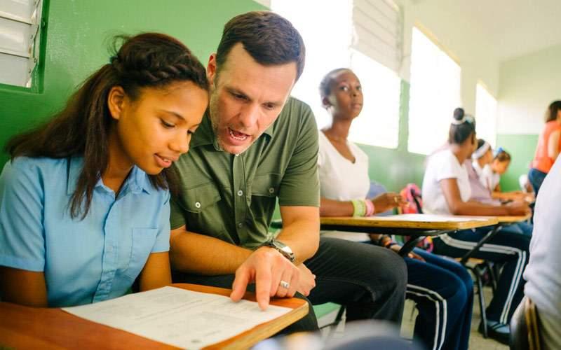 Fathom Dominican Republic Reading with Children