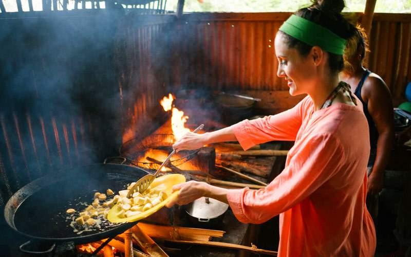 Fathom Dominican Republic Woman Cooking