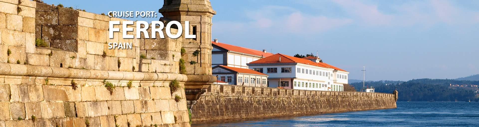 Cruises to Ferrol, Spain