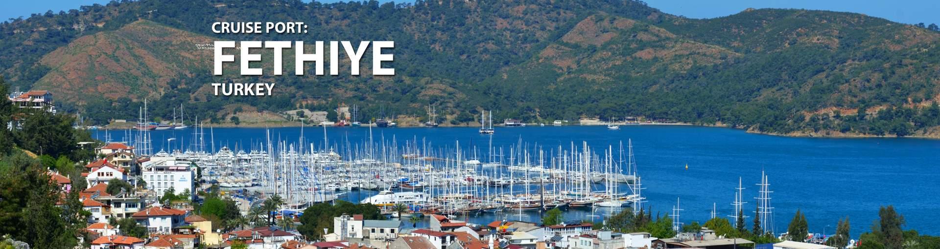 Cruises to Fethiye, Turkey