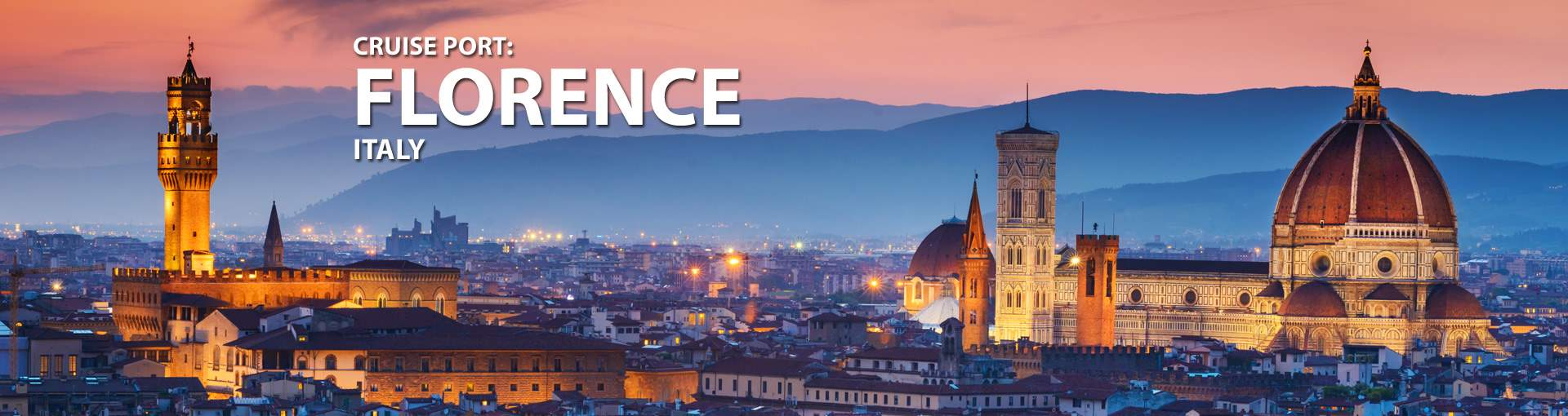 Cruises to Florence, Italy