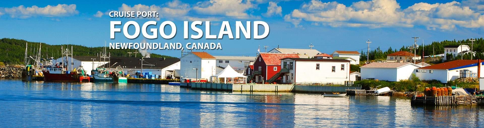 Cruises to Fogo Island, Newfoundland