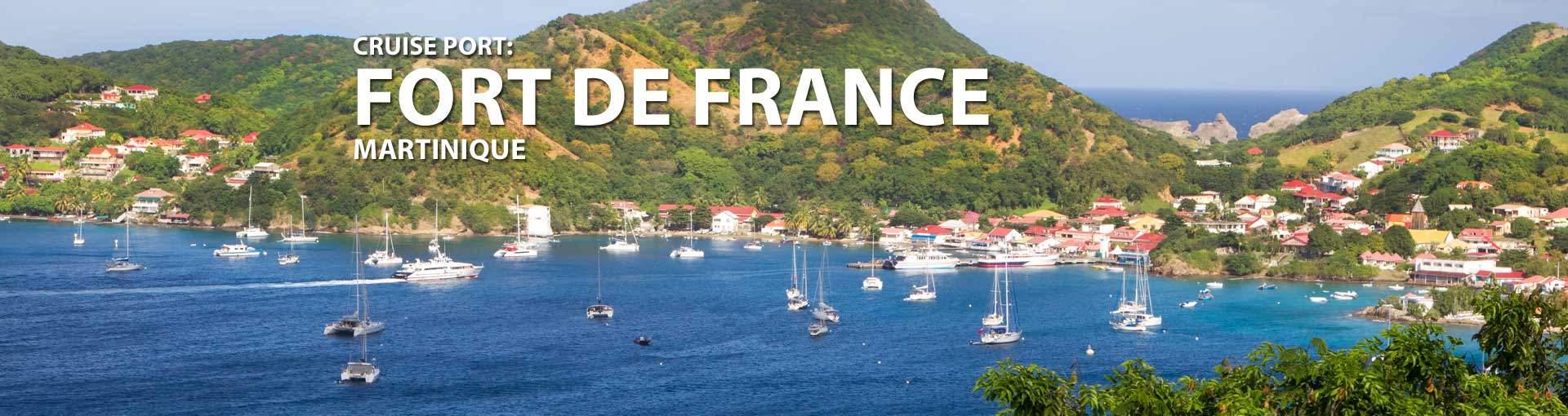 Cruises to Fort de France, Martinique