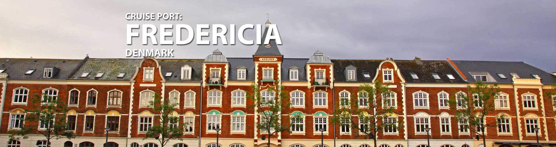 Cruises to Fredericia, Denmark