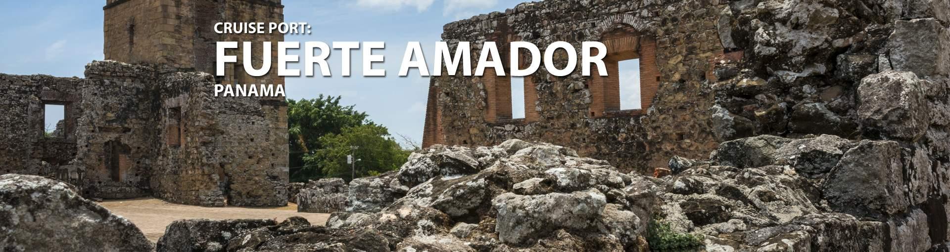 Cruises to Fuerte Amador, Panama