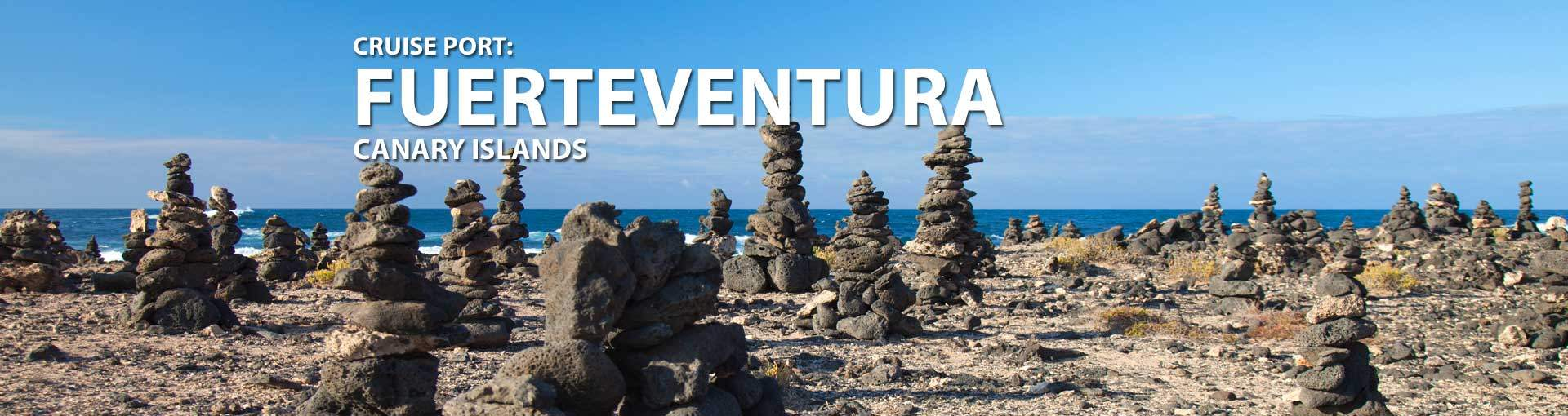 Cruises to Fuerteventura, Canary Islands