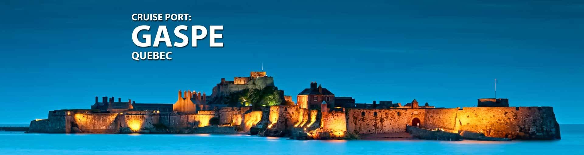 Cruises to Gaspe Quebec