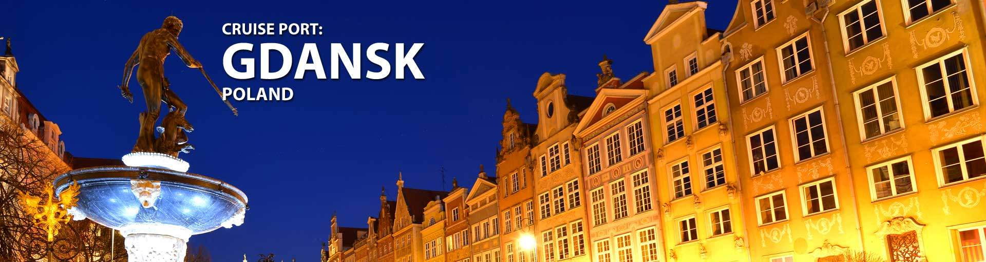 Cruises to Gdansk, Poland