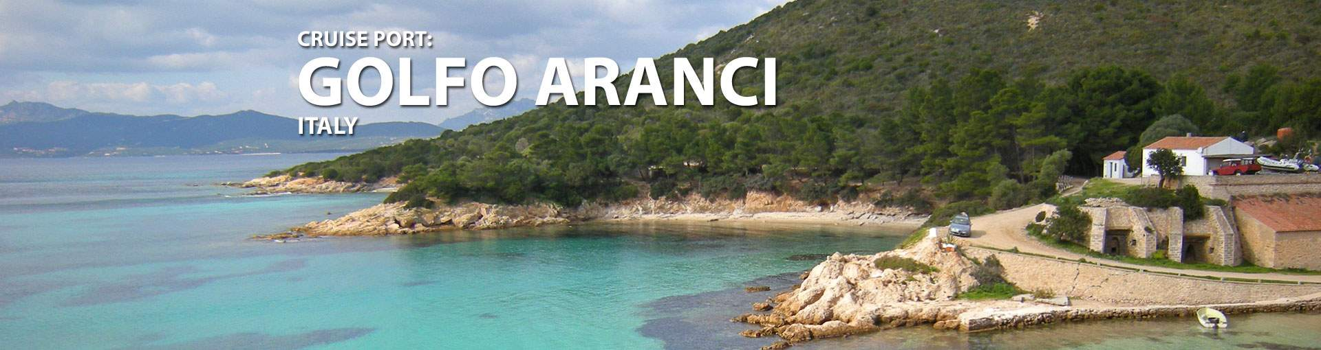 Cruises to Golfo Aranci, Italy