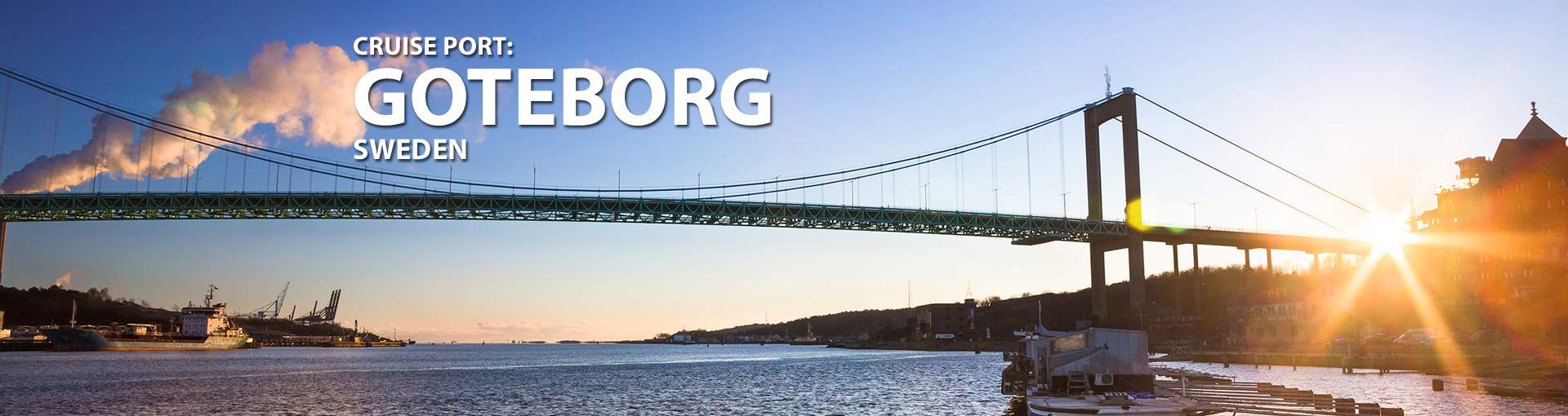 Cruises to Goteborg, Sweden