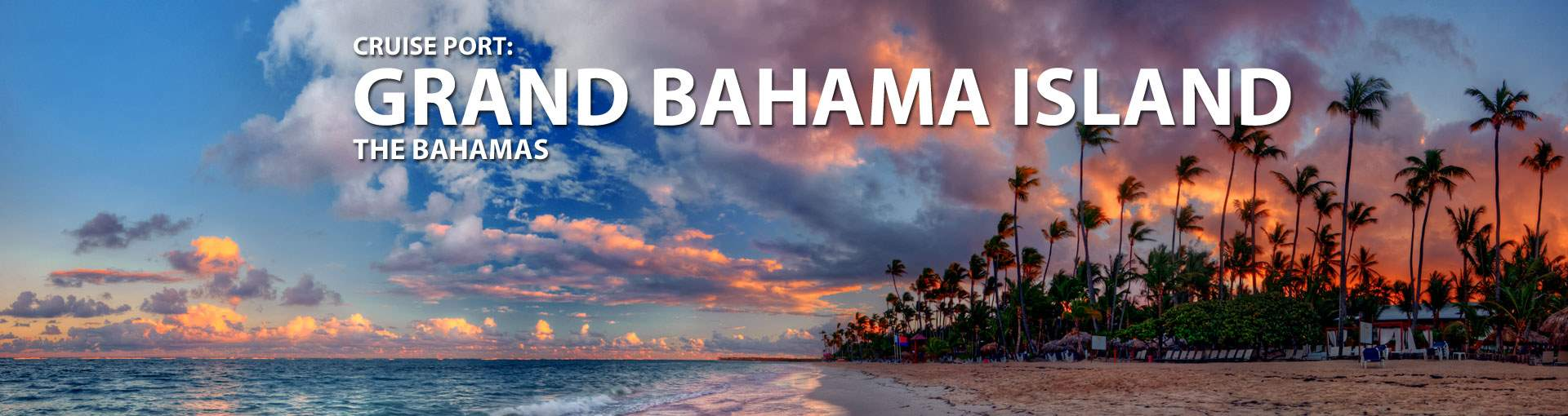 Cruises to Grand Bahama Island