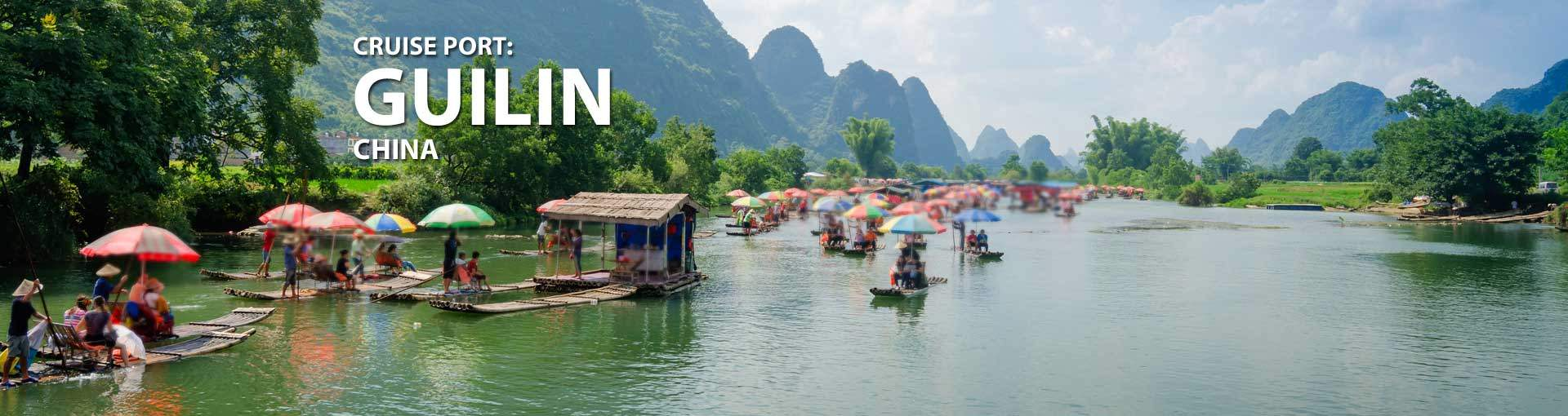 Cruises to Guilin, China