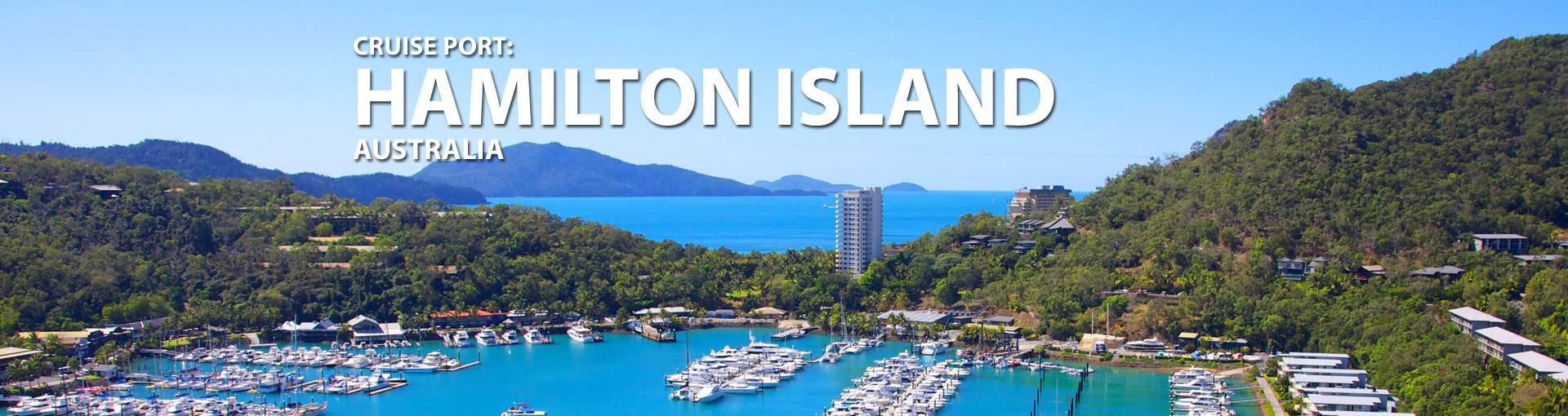 Cruises to Hamilton Island, Australia