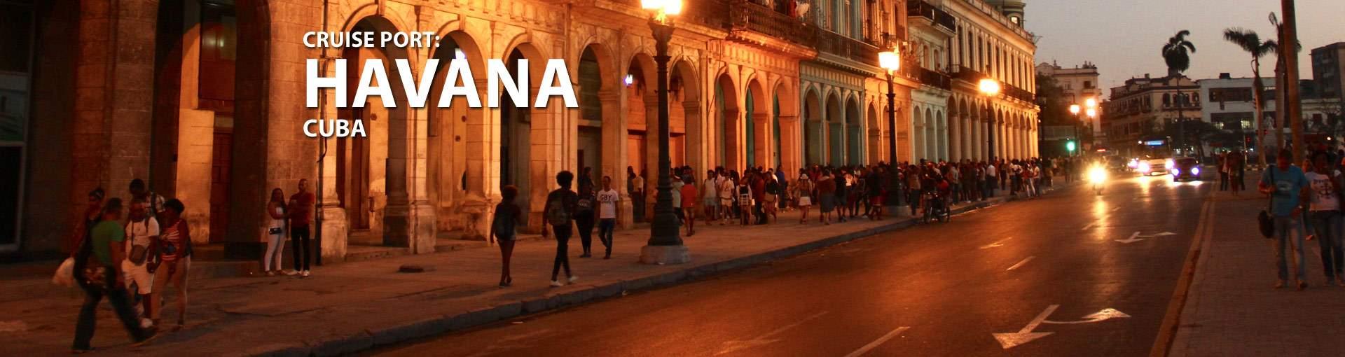Havana, Cuba Cruise Port