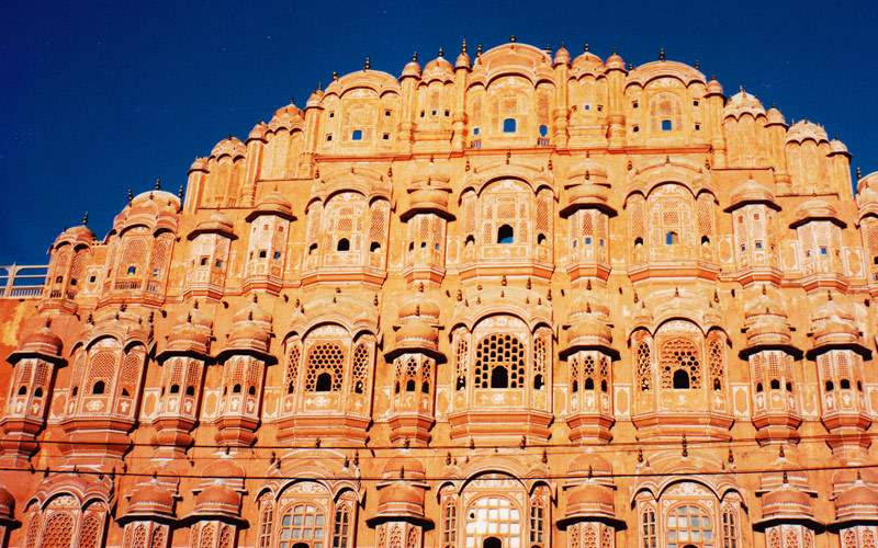 Hawa Mahal Palace in Jaipur