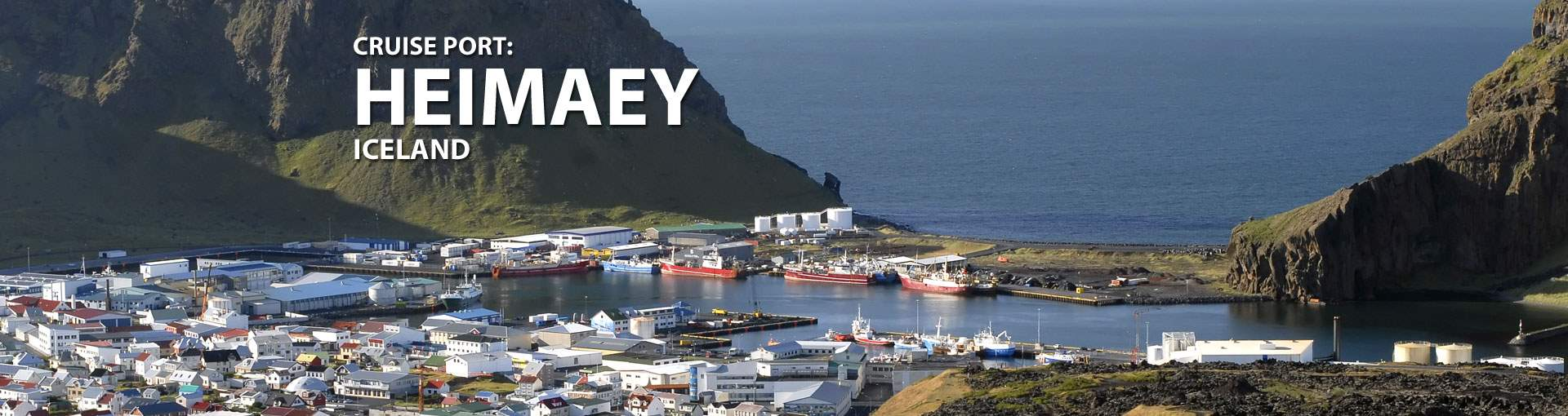 Cruises to Heimaey, Iceland