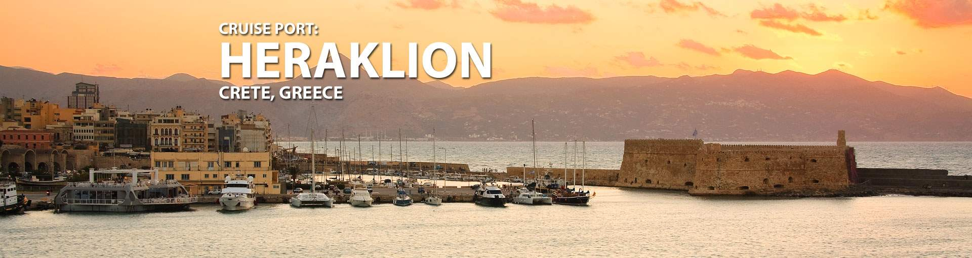 Cruises to Heraklion, Crete, Greece
