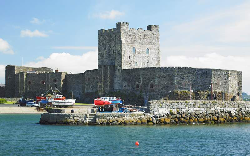 Carrickfergus Castle, Ireland Holland America Line