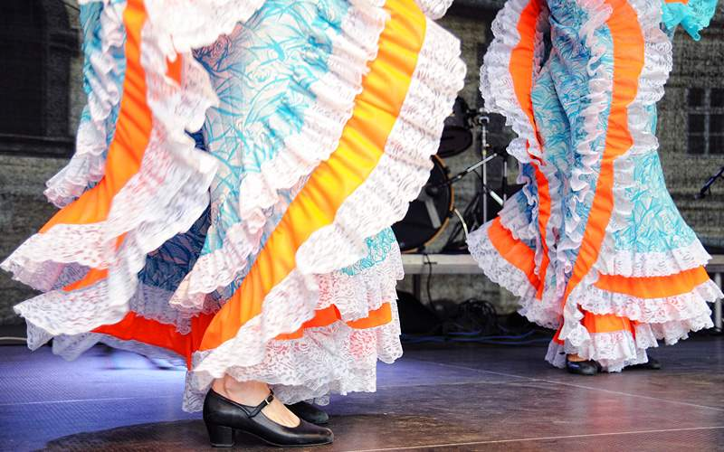 Traditional Mexican costumes Holland America