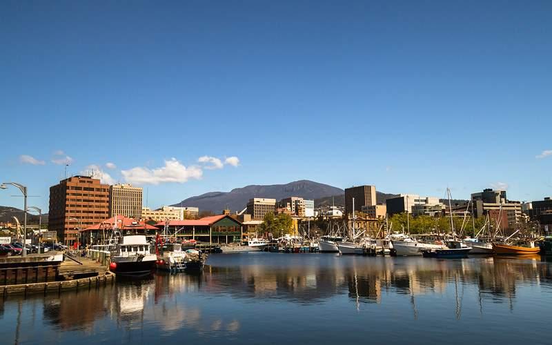 Derwent River, Hobart, Tasmania Holland America
