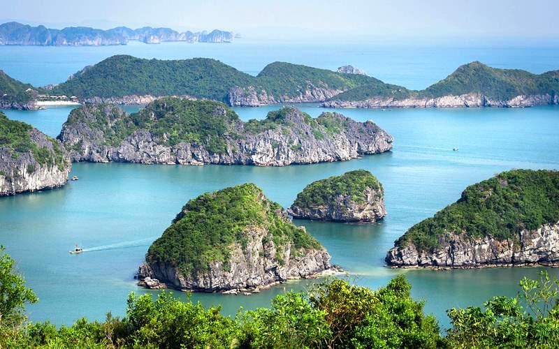 Limestone Islands in Halong Bay Holland America