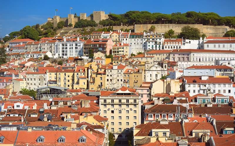 Lisbon, Portugal, Santa Justa Lift Holland America