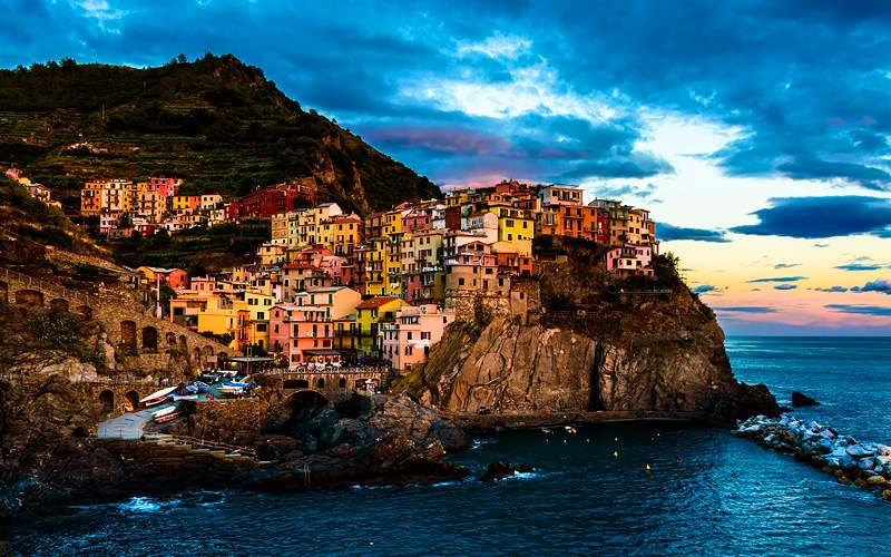 National Park of Cinque Terre Holland America