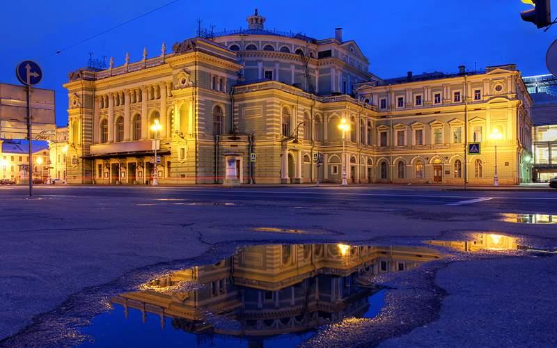 Mariinsky Theatre and Opera House Holland America