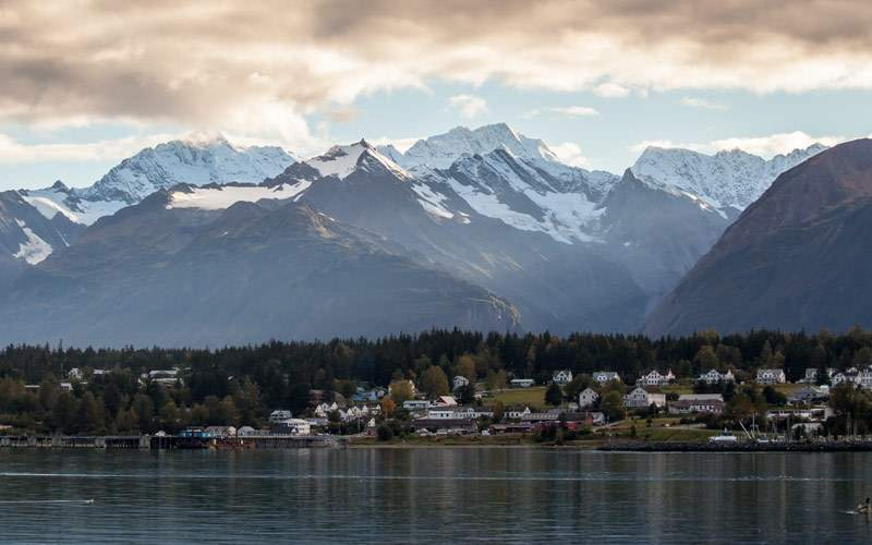 Mountains of Haines, Alaska Holland America Line