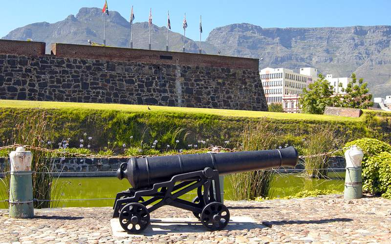 Castle of Good Hope, Cape Town Holland America