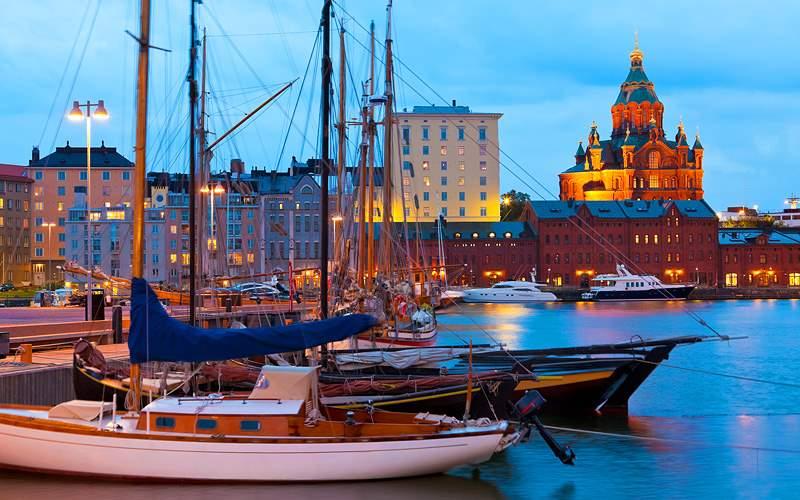 Katajanokka, Helsinki, Finland Holland America