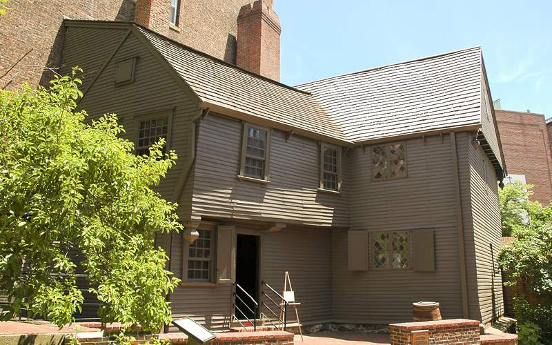 Paul Revere House New England Holland America