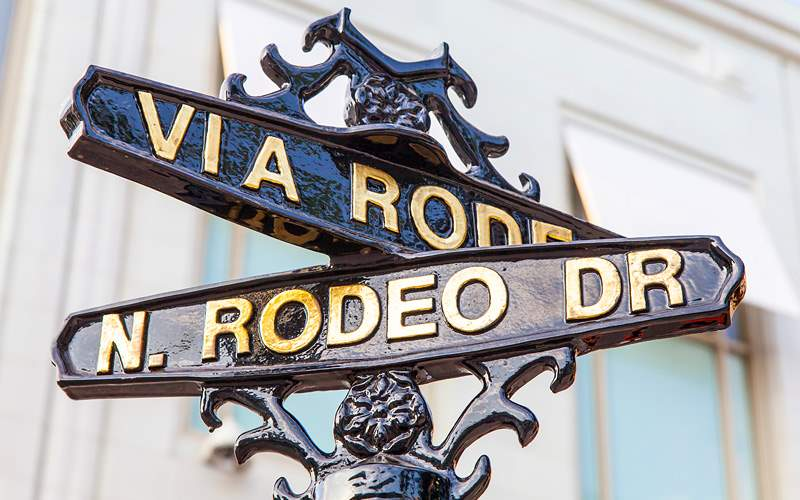 Rodeo Drive Los Angeles Holland America US Pacific