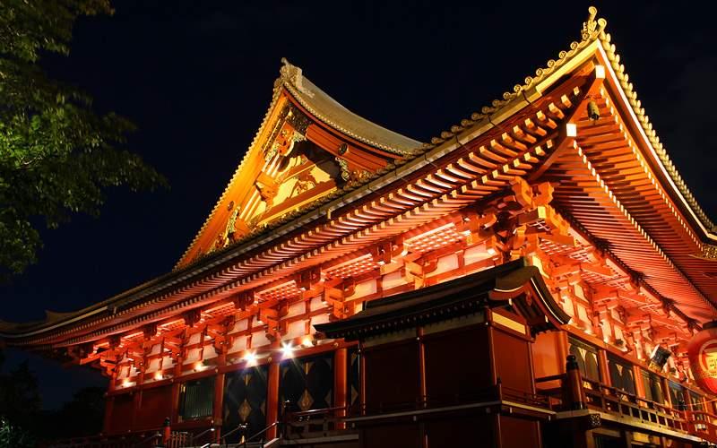 Senso-ji Temple, Asakusa, Tokyo Holland America