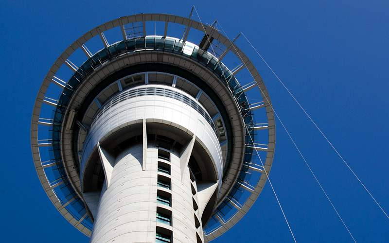 Sky Tower in Auckland New Zealand Holland America