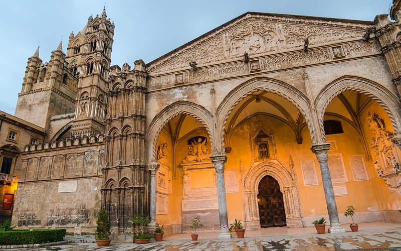 Cathedral of Palermo Sicily, Italy Holland America
